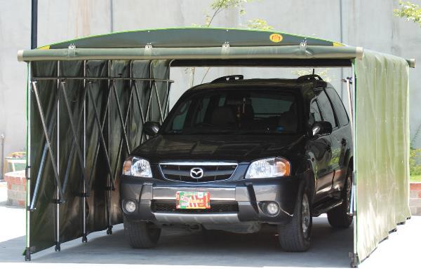 活動車庫,帆布遮雨棚,車庫帆布遮雨棚,活動車罩