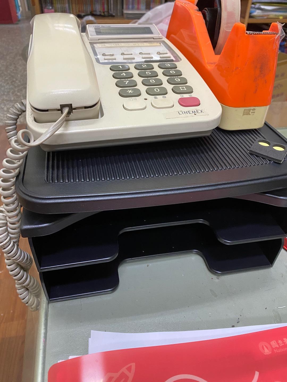 辦公桌 電話架